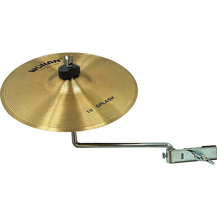 Wuhan Splash with Cymbal Arm  10 in.