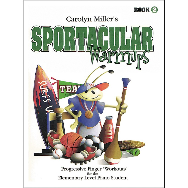 Willis MusicSportacular Warmups Book 2 Progressive Finger