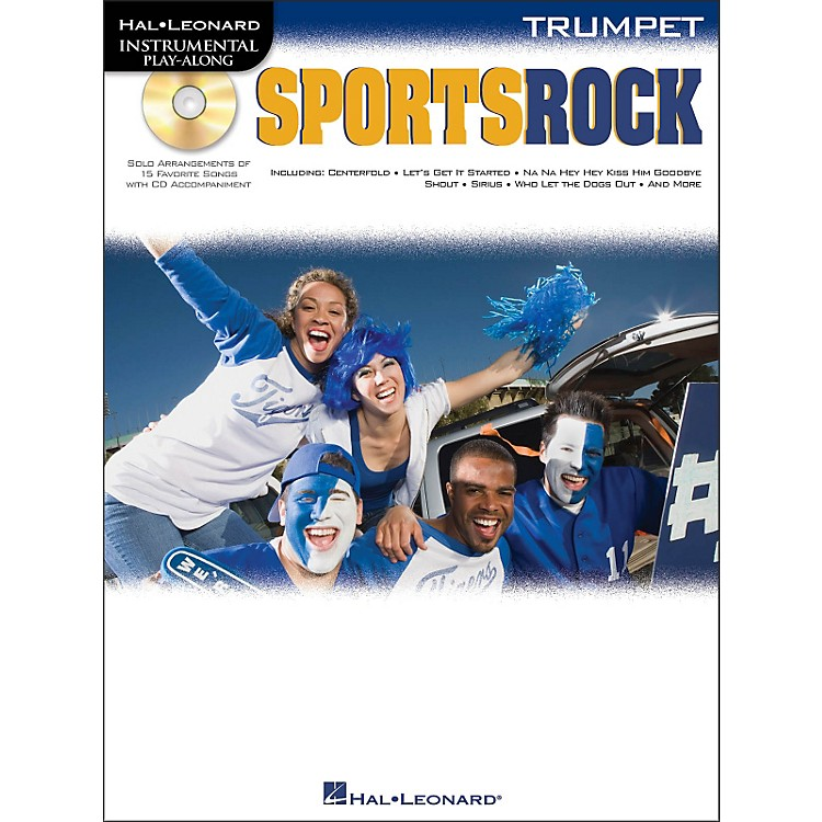 Hal Leonard Sports Rock for Trumpet - Instrumental Play-Along Book/CD Pkg