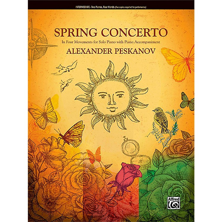 AlfredSpring Concerto Intermediate Duet 2 copies required for performance