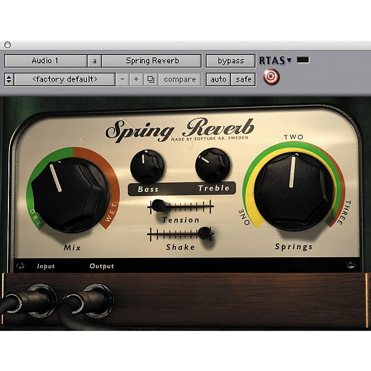 Softube Spring Reverb Native Software Download