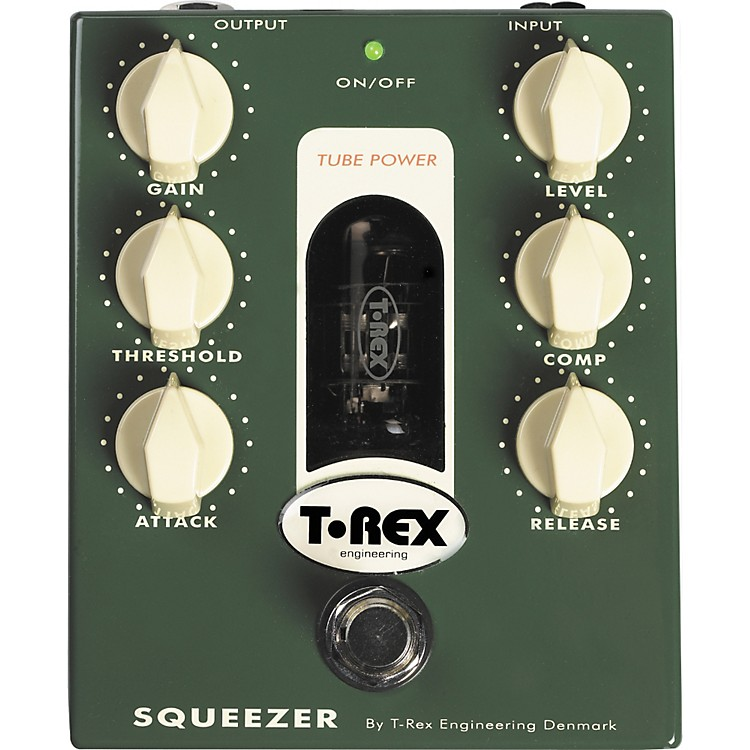 T-Rex EngineeringSqueezer Tube-Driven Bass Compressor Pedal