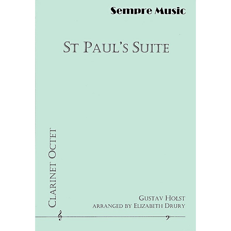 Theodore Presser St Paul's Suite (Book + Sheet Music)