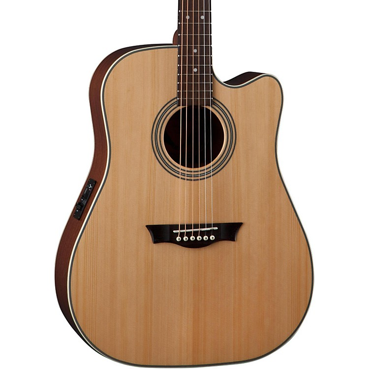 DeanSt. Augustine Dreadnought Cutaway Acoustic-Electric GuitarNatural