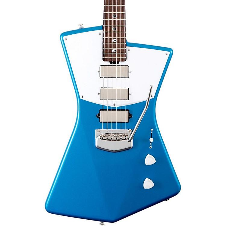 Ernie Ball Music ManSt. Vincent Rosewood Signature GuitarBlue