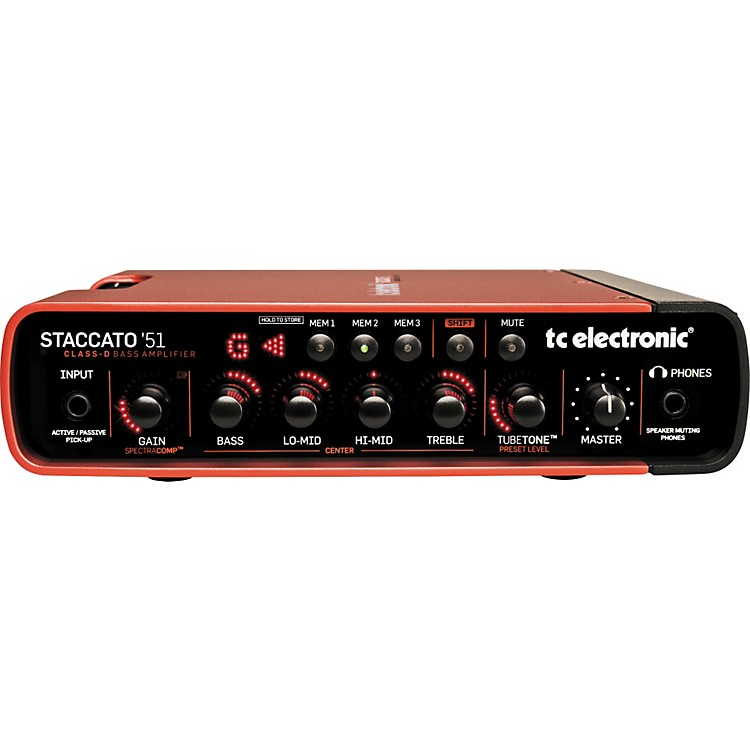 TC ElectronicStaccato'51 Bass Amp HeadRed