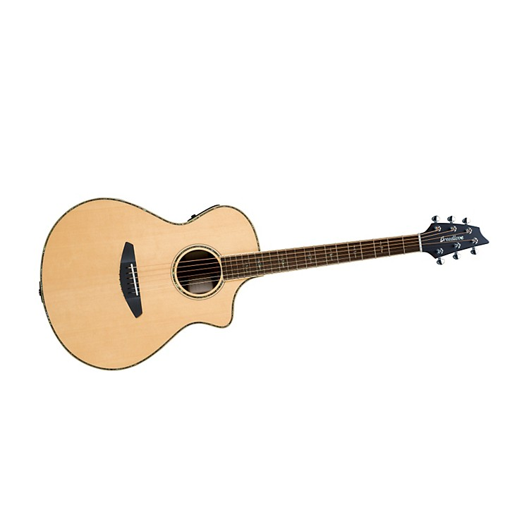 Breedlove Stage Concert 2014 Acoustic-Electric Guitar Natural