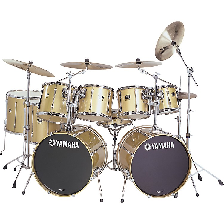 yamaha stage custom advantage 9 piece double bass kit music123. Black Bedroom Furniture Sets. Home Design Ideas