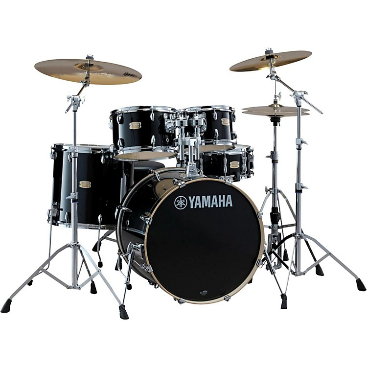Yamaha Stage Custom Birch 5-Piece Shell Pack with 20 inch Bass Drum Raven Black