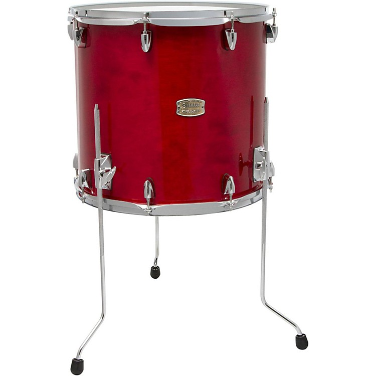 Yamaha Stage Custom Birch Floor Tom 14 x 13 in. Cranberry Red