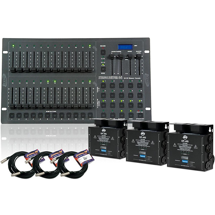 American DJ Stage Pak 2 - 24-Channel Stage/Dimmer Console Pak