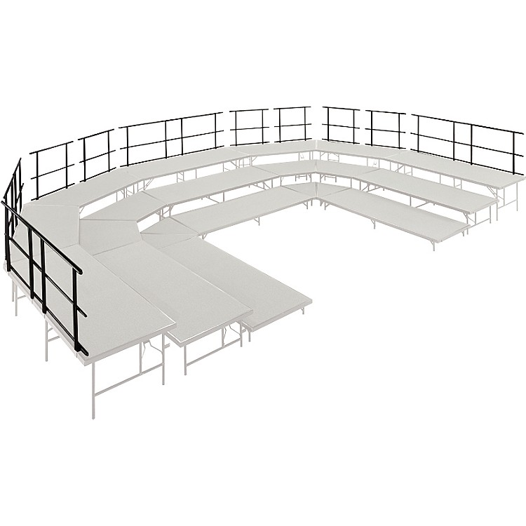 Midwest Folding ProductsStages & Seated Risers Guard Rails 36