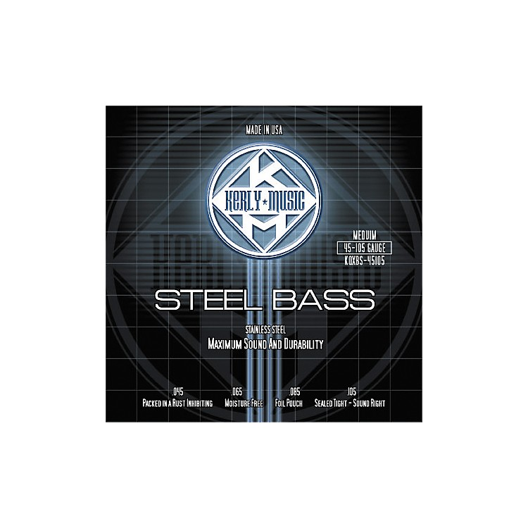 Kerly Music Stainless Steel Bass Strings Medium