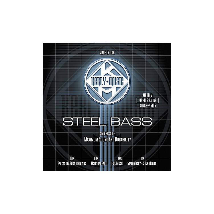 Kerly MusicStainless Steel Bass Strings Medium