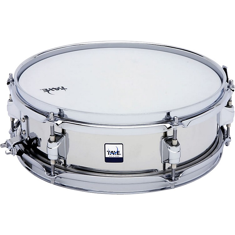 Taye Drums Stainless Steel Snare 13 in. X 5 in.