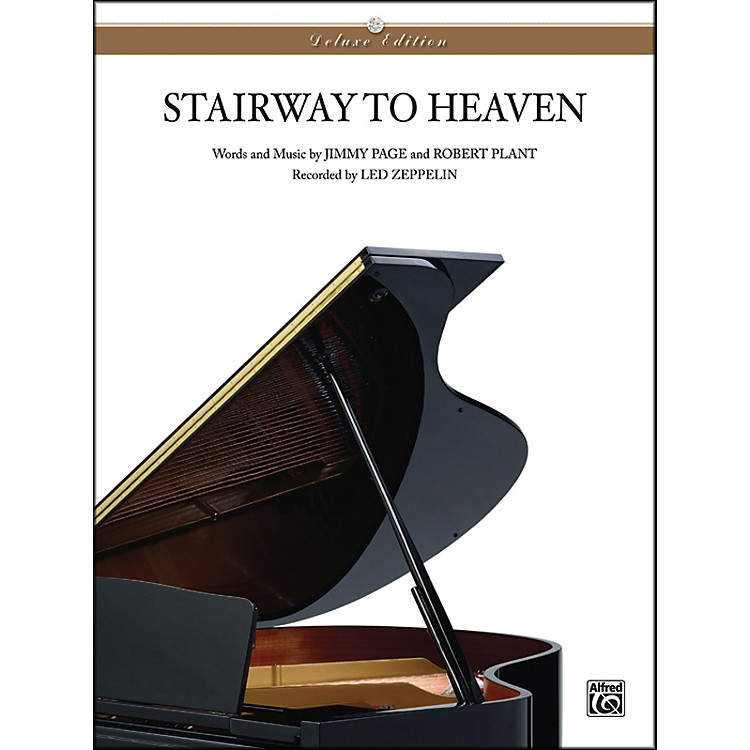 AlfredStairway to Heaven Piano Solo Sheet Music
