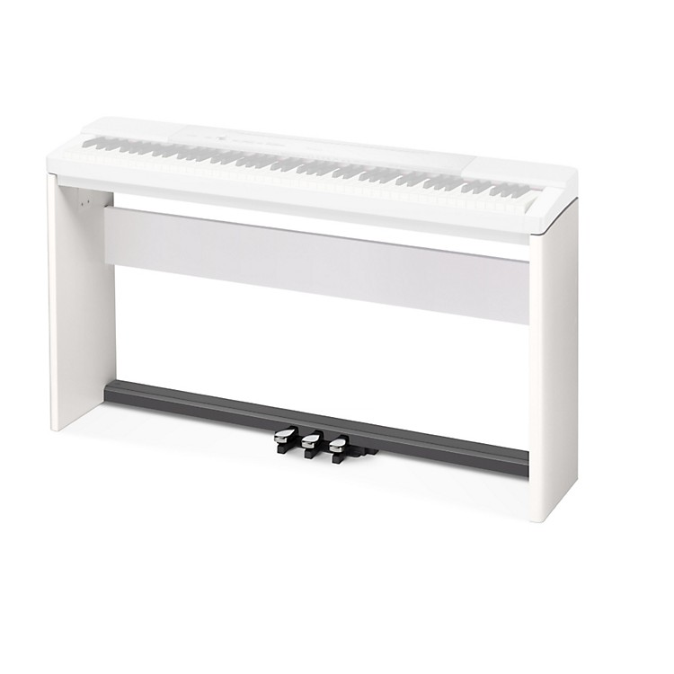 CasioStand and 3-Pedal Bundle for Privia PX-150 & PX-350 KeyboardsWhite