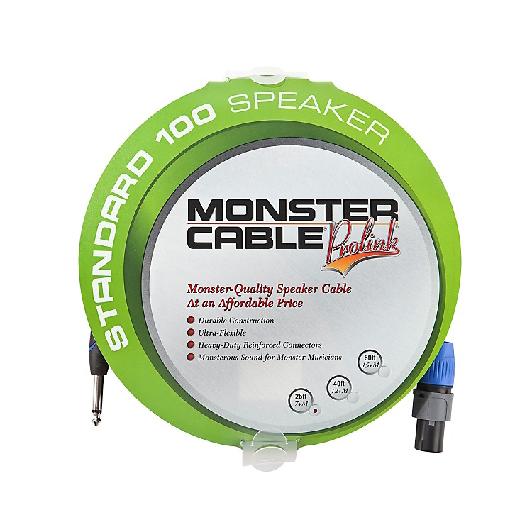 Monster Legacy Standard 100 Speaker Cable with SpeakOn Connectors - 1/4