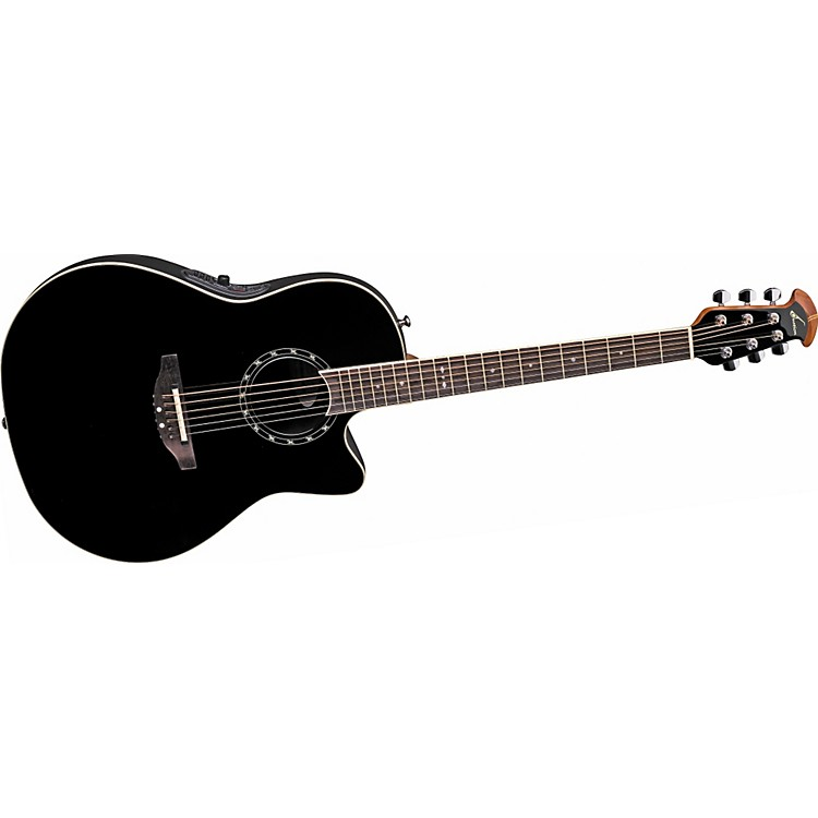 Ovation Standard Balladeer 1771 AX Acoustic-Electric Guitar Black