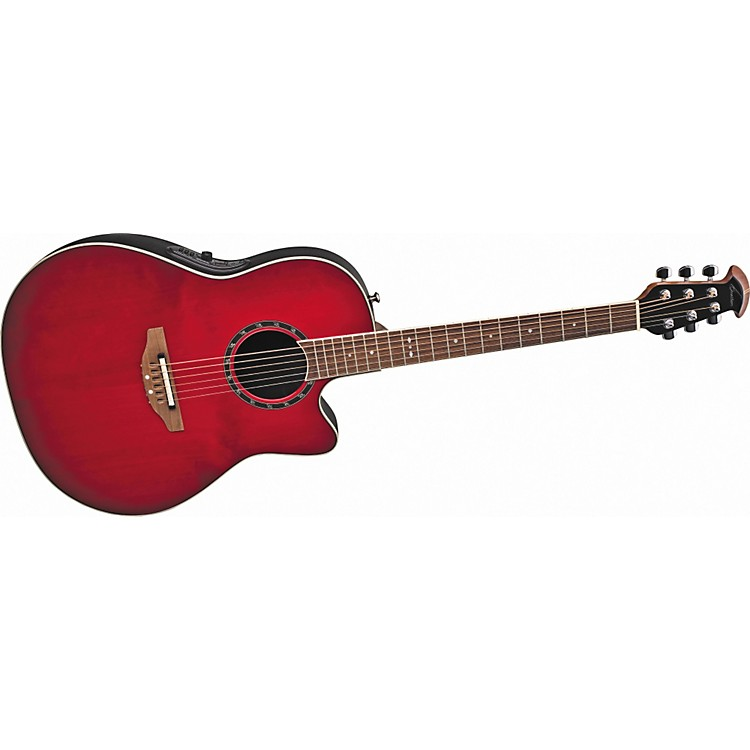 Ovation Standard Balladeer 1771 AX Acoustic-Electric Guitar Cherry Cherry Burst