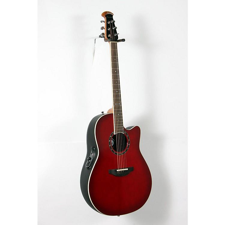 OvationStandard Balladeer 2771 AX Acoustic-Electric GuitarCherry Cherry Burst888365918525