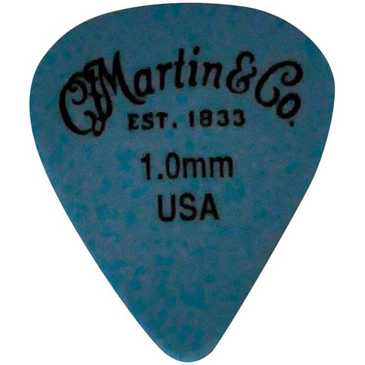 MartinStandard Delrin Guitar PickBlue 1.00mm72 Pieces