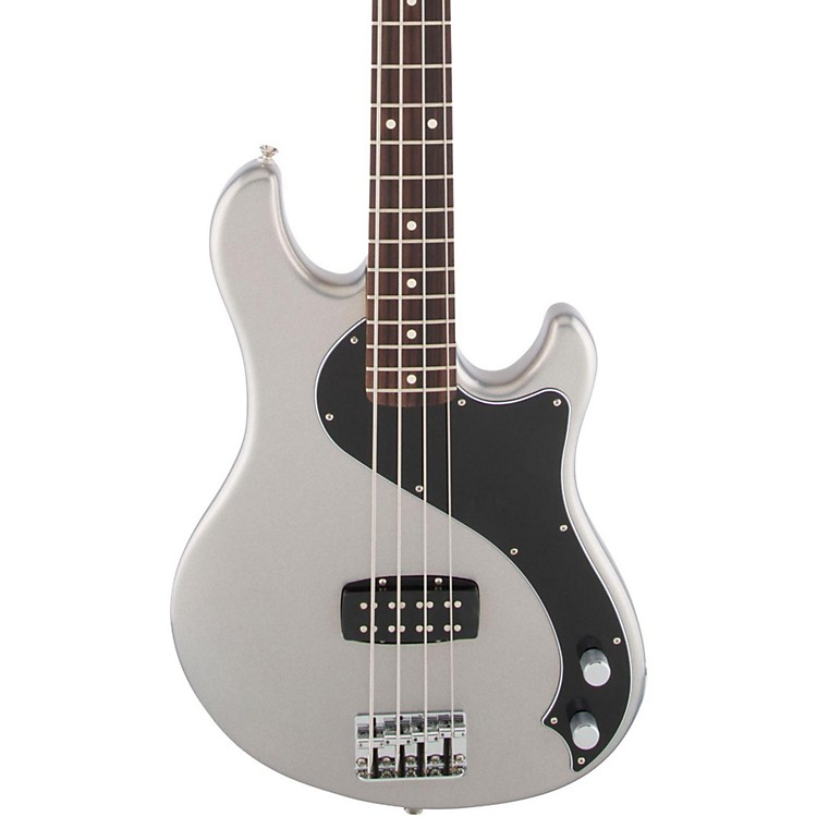 Fender Standard Dimension Bass IV Rosewood Fingerboard Electric Bass Guitar Ghost Silver