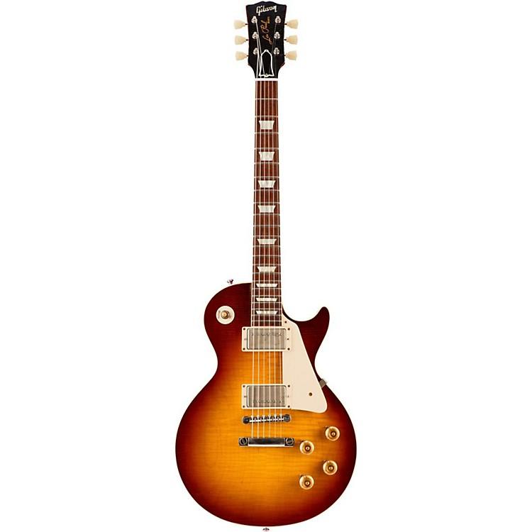 Gibson CustomStandard Historic 1958 Les Paul Reissue VOS Electric GuitarBourbon Burst