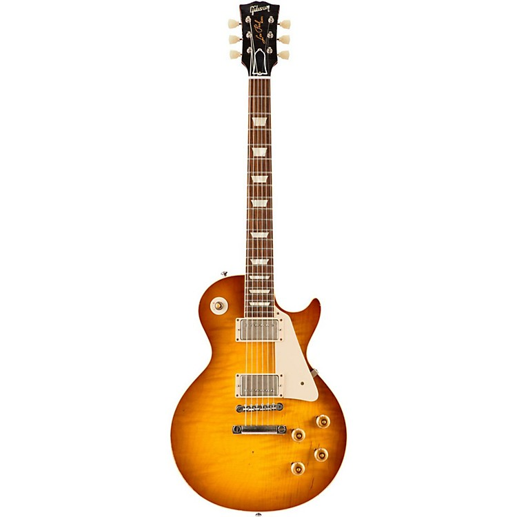 Gibson CustomStandard Historic 1958 Les Paul Reissue VOS Electric GuitarIced Tea