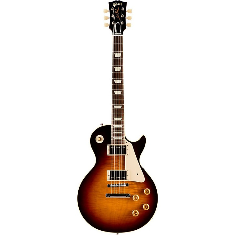 Gibson CustomStandard Historic 1959 Les Paul Reissue Gloss Electric GuitarFaded Tobacco