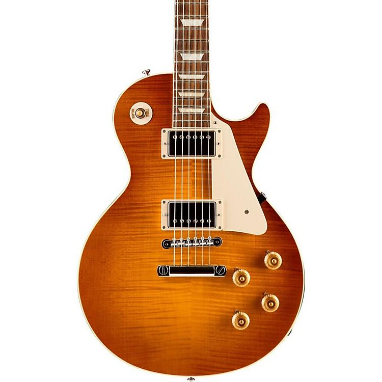 Gibson CustomStandard Historic 1959 Les Paul Reissue Gloss Electric GuitarSunrise Tea Burst