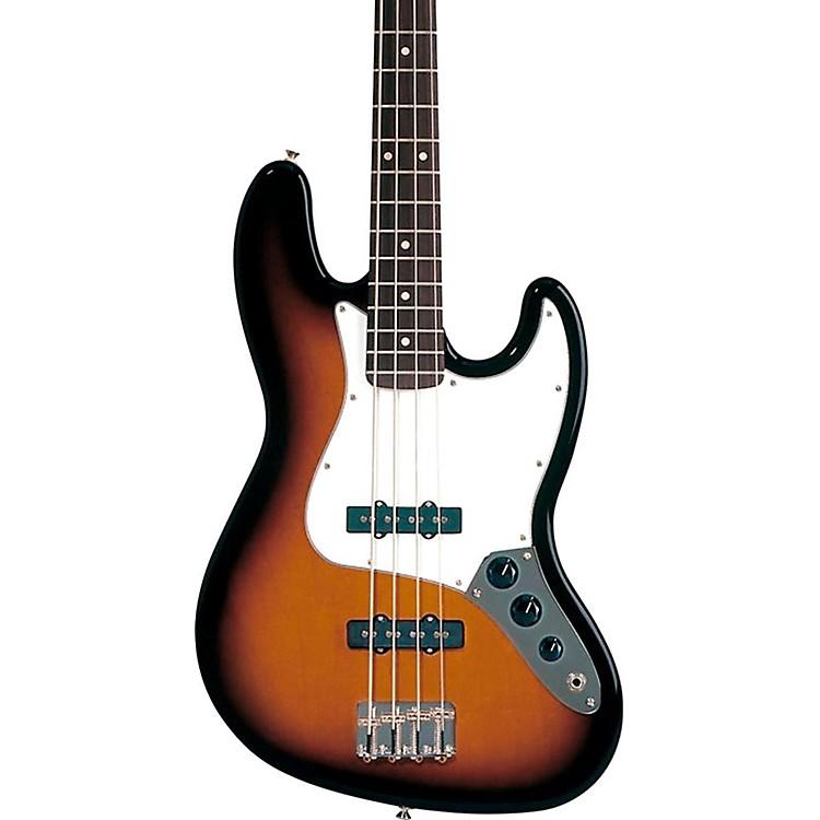 FenderStandard Jazz Bass GuitarBrown SunburstRosewood Fretboard