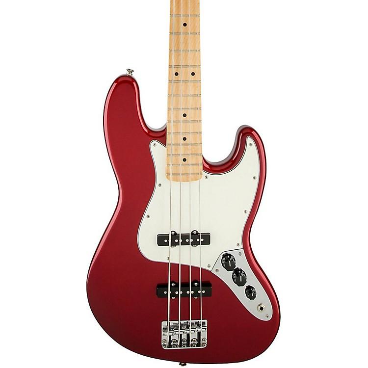 FenderStandard Jazz Bass GuitarCandy Apple RedGloss Maple Fretboard