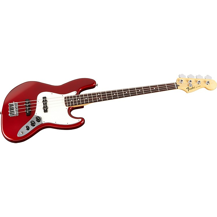FenderStandard Jazz Bass GuitarCandy Apple RedRosewood Fretboard