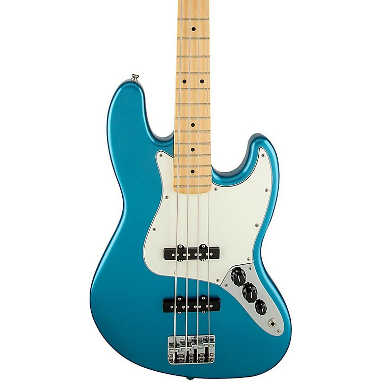 FenderStandard Jazz Bass GuitarLake Placid BlueGloss Maple Fretboard