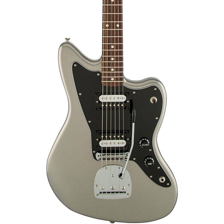 Fender Standard Jazzmaster HH Rosewood Fingerboard Electric Guitar Ghost Silver