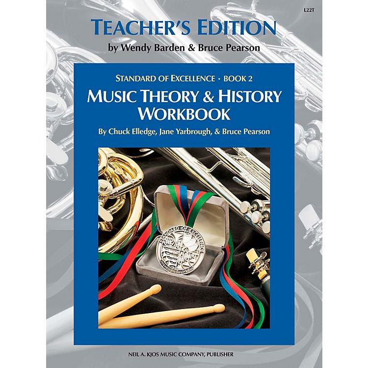 KJOSStandard Of Excellence BK2,MSC THRY/HISTORY WB-TEACHER