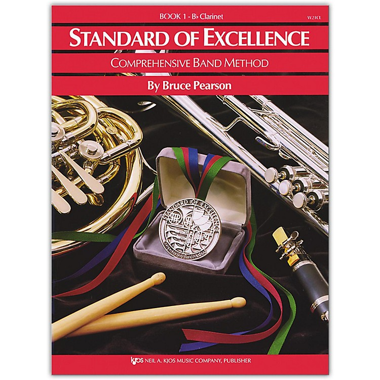KJOSStandard Of Excellence Book 1 Clarinet