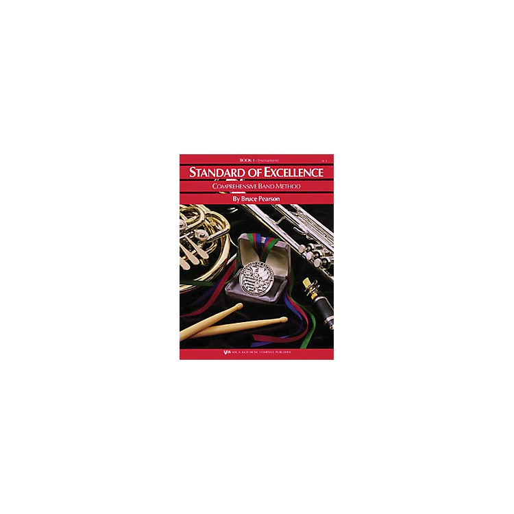 KJOSStandard Of Excellence Book 1 Drums/Mallet Percussion
