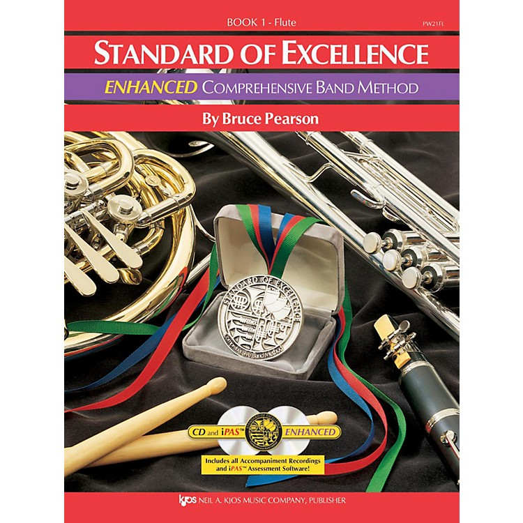 KJOS Standard Of Excellence Book 1 Enhanced Flute