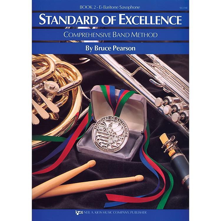 KJOSStandard Of Excellence Book 2 Bari Sax