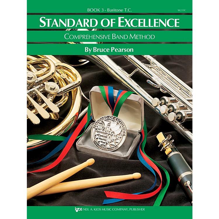 KJOSStandard Of Excellence Book 3 Baritone Tc