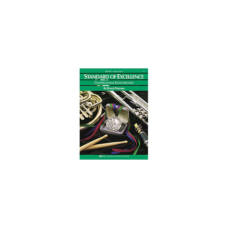 KJOSStandard Of Excellence Book 3 Drums/Mallet Percussion
