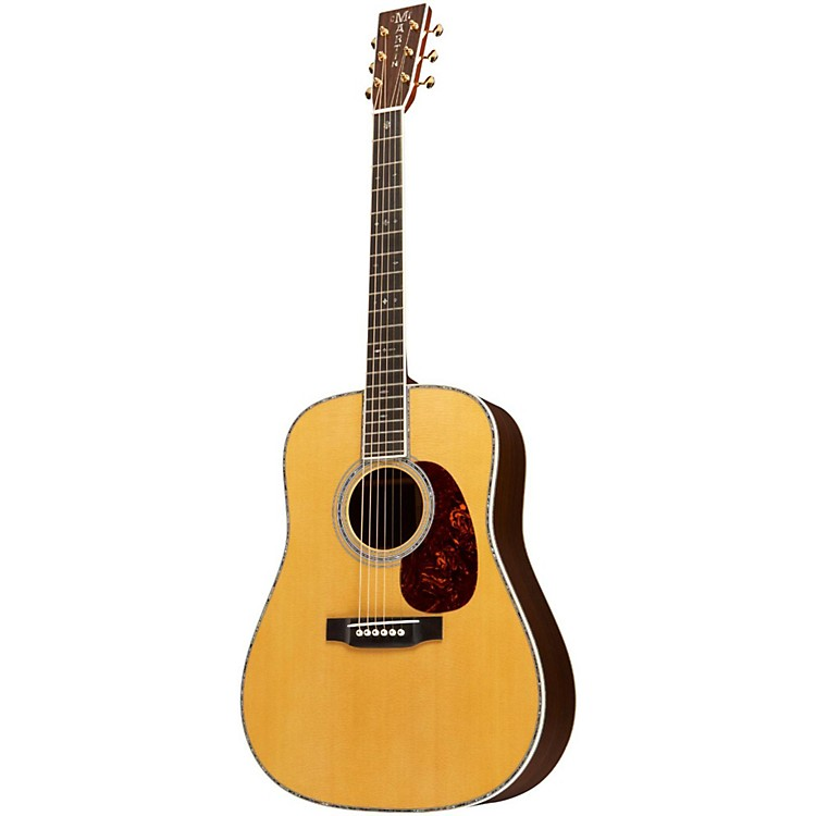 Martin Standard Series D-45V Dreadnought Acoustic Guitar Natural