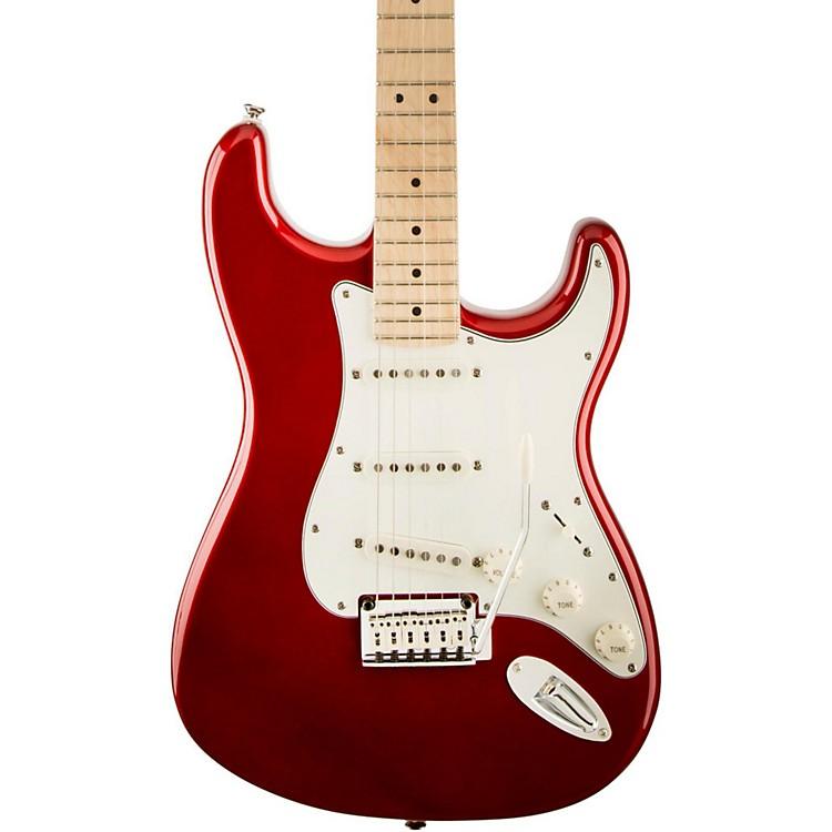 SquierStandard Stratocaster Electric GuitarCandy Apple RedMaple Fretboard