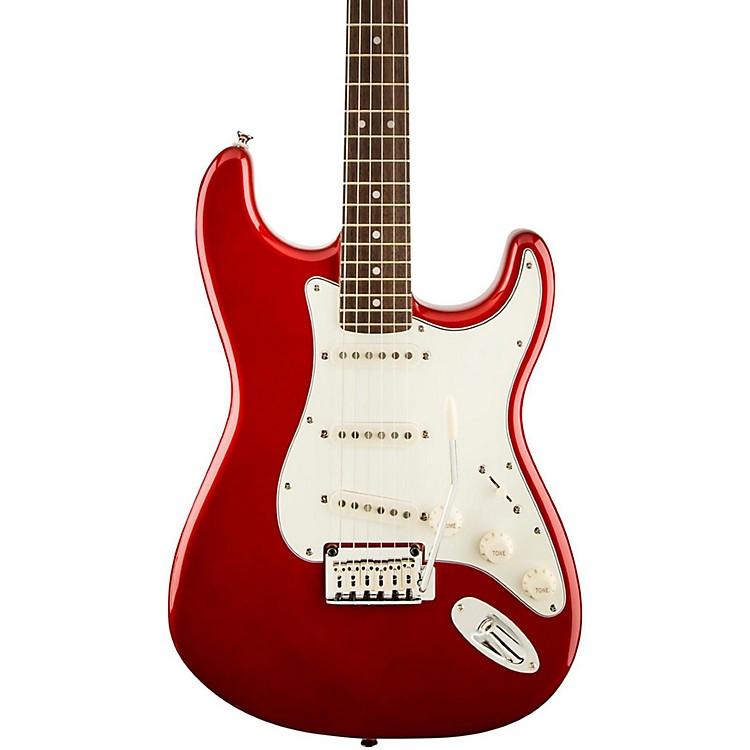 SquierStandard Stratocaster Electric GuitarCandy Apple RedRosewood Fretboard