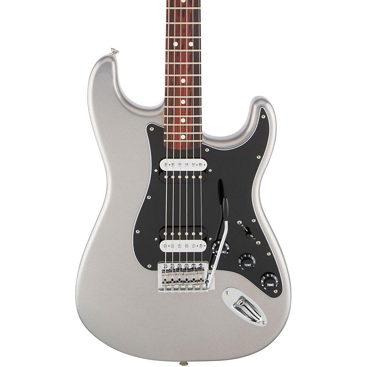 FenderStandard Stratocaster HH Rosewood Fingerboard Electric GuitarGhost Silver