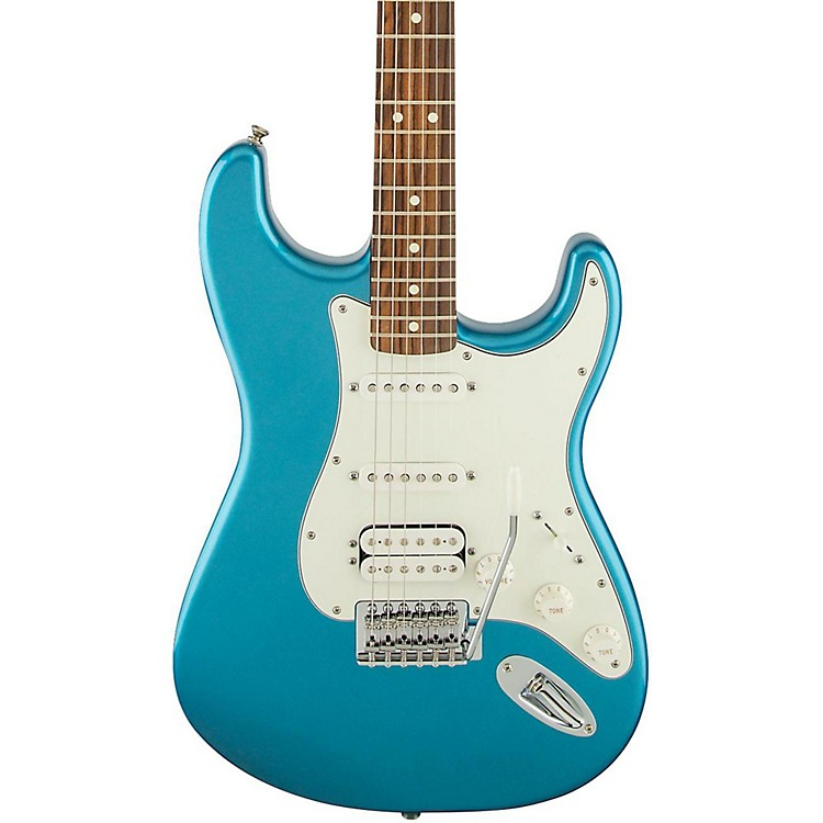 FenderStandard Stratocaster HSS Electric GuitarLake Placid BlueRosewood Fretboard