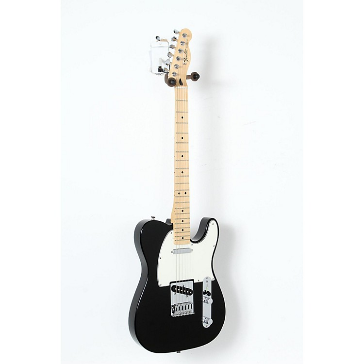 Fender Standard Telecaster Electric Guitar Black, Gloss Maple Fretboard 888365906041