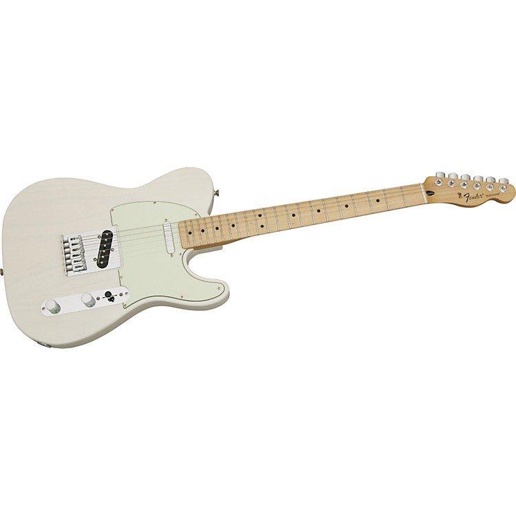 Fender Standard Telecaster FSR Ash Electric Guitar with Vintage Noiseless Pickups White Blonde